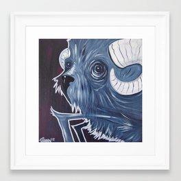 Goat Framed Art Print