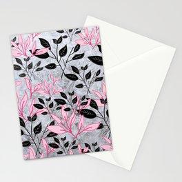 Leafy Pattern Stationery Cards