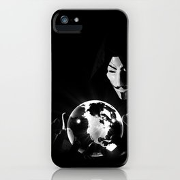 Dr Anonymous iPhone Case