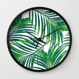 Palm Paradise #society6 #decor #buyart Wall Clock