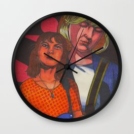 Double Kristin Wall Clock