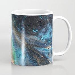 Mandarin Mint Nebula Coffee Mug