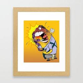 Jerky Moe Framed Art Print