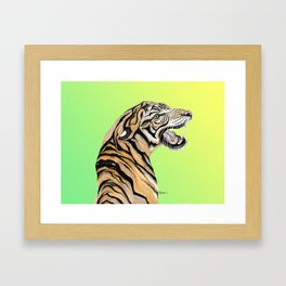 Tiger Totem Framed Art Print