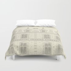 Provincial Trading Co's General Office Duvet Cover