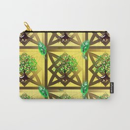 Celtic Tree Pattern Carry-All Pouch
