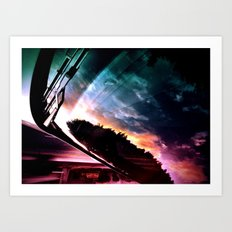 Inverted Horizon Art Print