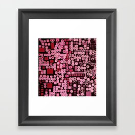 :: Pink Noise Ordinance :: Framed Art Print