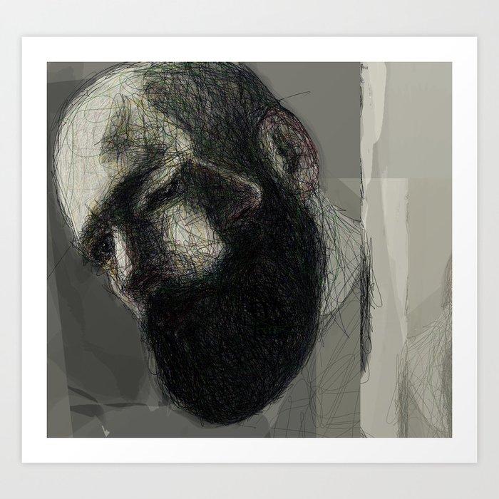 Self Portrait at 33 #2 Art Print