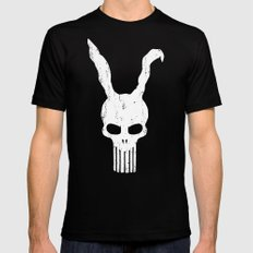 The Bunnisher Mens Fitted Tee Black MEDIUM