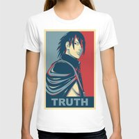 sasuke T-shirts featuring Sasuke - Truth by KingSora