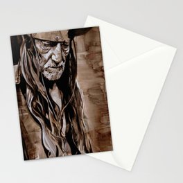 Sepia Willie Stationery Cards
