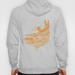 I'm a Transurfer Orange Hoody