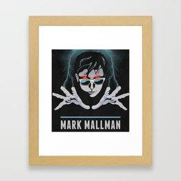 Mark Mallman - Lightning Fingers Framed Art Print