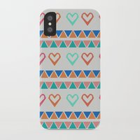 knit iPhone & iPod Cases featuring Heart Knit  by minniemorrisart