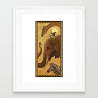 africa Framed Art Prints featuring Africa by Miguel Co