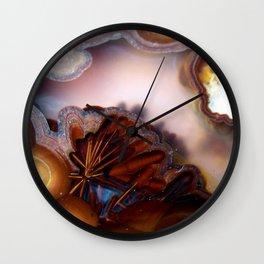 Colorful Gemstone Wall Clock
