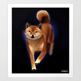Shiba Art Print