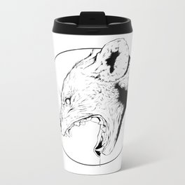 Hyena Metal Travel Mug