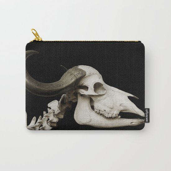Cattle Skull 4 Carry-All Pouch