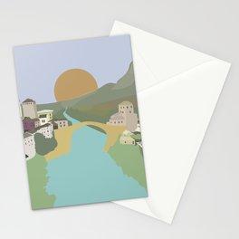 Mostar, Bosnia & Herzegovina Stationery Cards