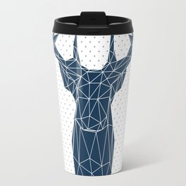 Faceted Deer Travel Mug