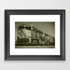 BNSF Freight  Framed Art Print