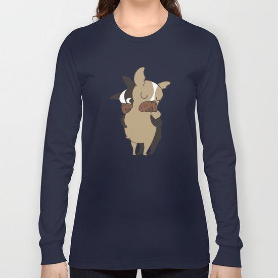 Frenchie Hugs Long Sleeve T-shirt