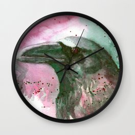 Complementary Raven 1 Wall Clock