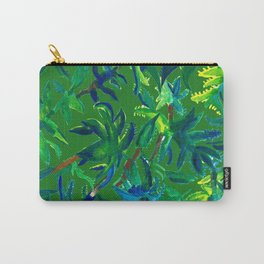 Cactus Abstract With Background Carry-All Pouch