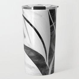 Tulips (Black&White) Travel Mug