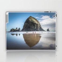 Haystack Rock Laptop & iPad Skin