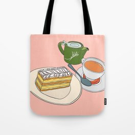 Aftenoon Cake Treat Tote Bag