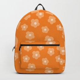 Fruity Orange Florals Backpack
