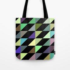 Tilted rectangles pattern Tote Bag
