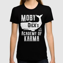 The Moby Dick Academy of Karma T-shirt