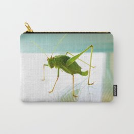 Happy Grasshopper Carry-All Pouch