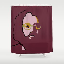 Allen Ginsberg Shower Curtain