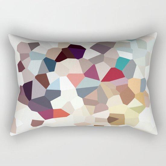 Africa Geometric Abstract Rectangular Pillow