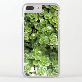 Sedum Clear iPhone Case