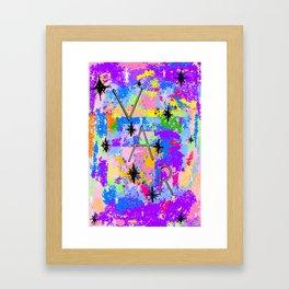 VAR Bright Framed Art Print