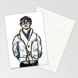 RUN BTS V Stationery Cards