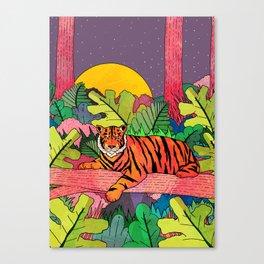 Spring Jungle Canvas Print