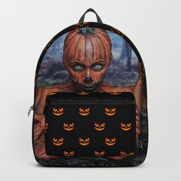 Mrs. Bhisar's Pumpkin Patch Backpack
