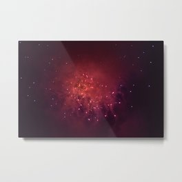 Shot in the Stars Metal Print