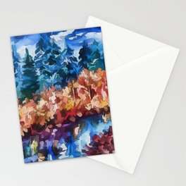 Fall in Rockies Stationery Cards