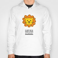 lion king Hoodies featuring Lion & King by Jane Mathieu