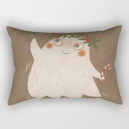 Christmas Ghost Rectangular Pillow