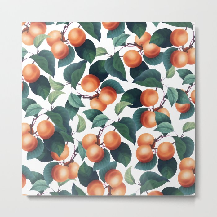 Tropical Fruit #society6 #decor #buyart Metal Print