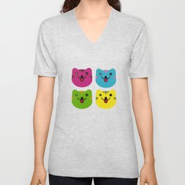 Cats Unisex V-Neck